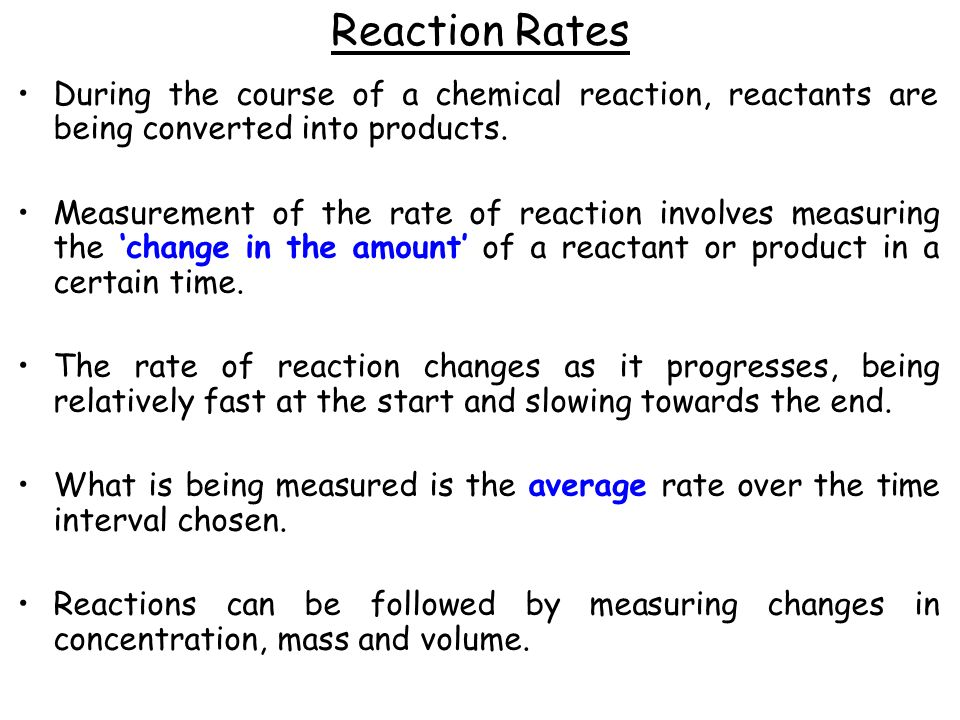 chemistry coursework rate of reaction conclusion Chemistry unit c1 higher tier 101 chemistry unit c2 foundation tier 117 chemistry unit c2 higher tier 135 physics unit p1 foundation tier 151 physics unit why their conclusion either agrees of candidates will be expected to process their results so that they calculate at least 5 rates of reaction for a range of.