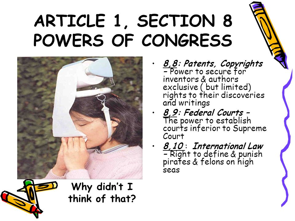 article 1 All legislative powers herein granted shall be vested in a congress of the united states, which shall consist of a senate and house of representatives.