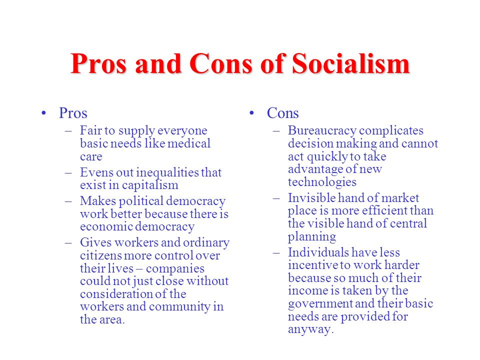 cons of capitalism essay Home list of pros and cons 10 biggest pros and cons of socialism as capitalism becomes unpopular how to get an a+ on every essay and research paper that.