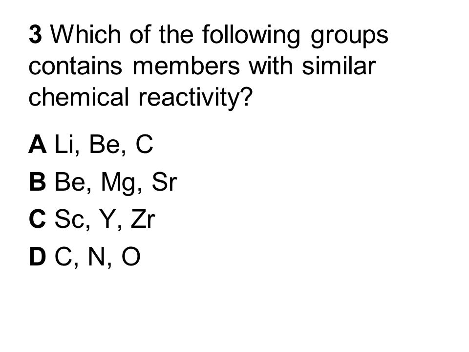 What Elements Share Similar Properties Groups