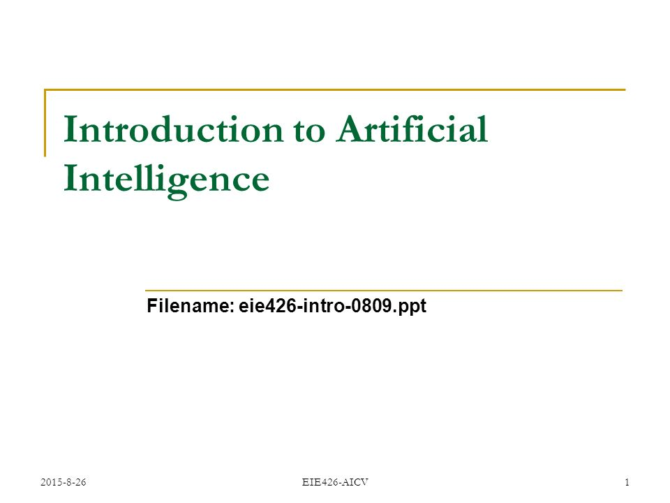 introduction to artificial intelligence pdf download