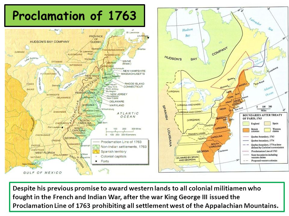 People Places And Events In American History Ppt Download - Us map 1763
