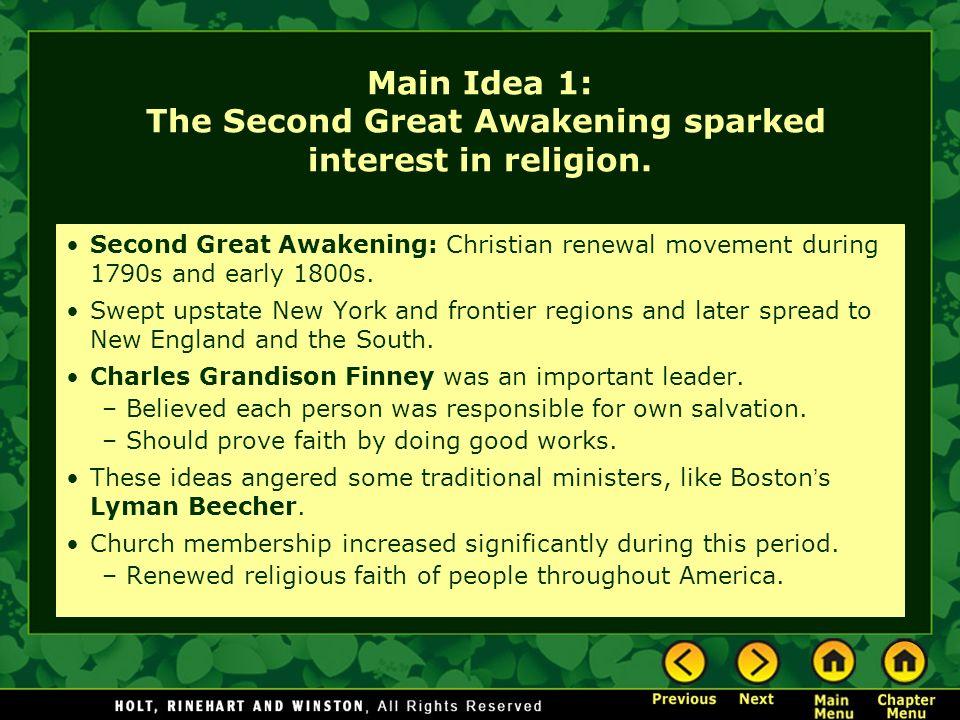 primary cause of second great awakening The second great awakening andrew jackson and the second great awakening democratic colonial america: cause and effect of the great awakening.