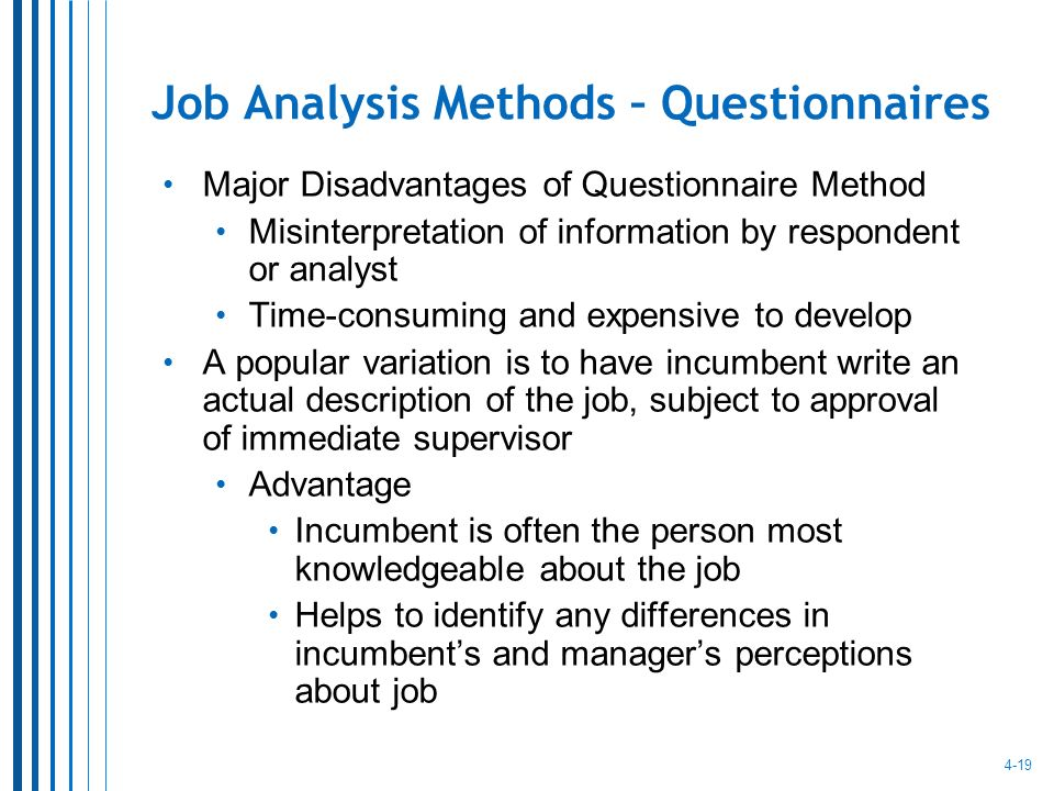 Job Analysis And Job Design  Ppt Video Online Download