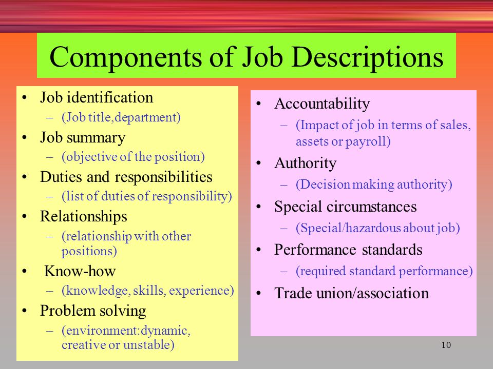 job analysis  job design and quality of work life