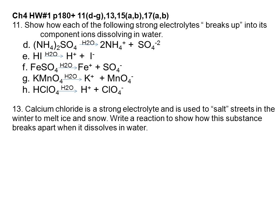 Ch4.1 – Types of Chemical Reactions and Solutions - ppt download