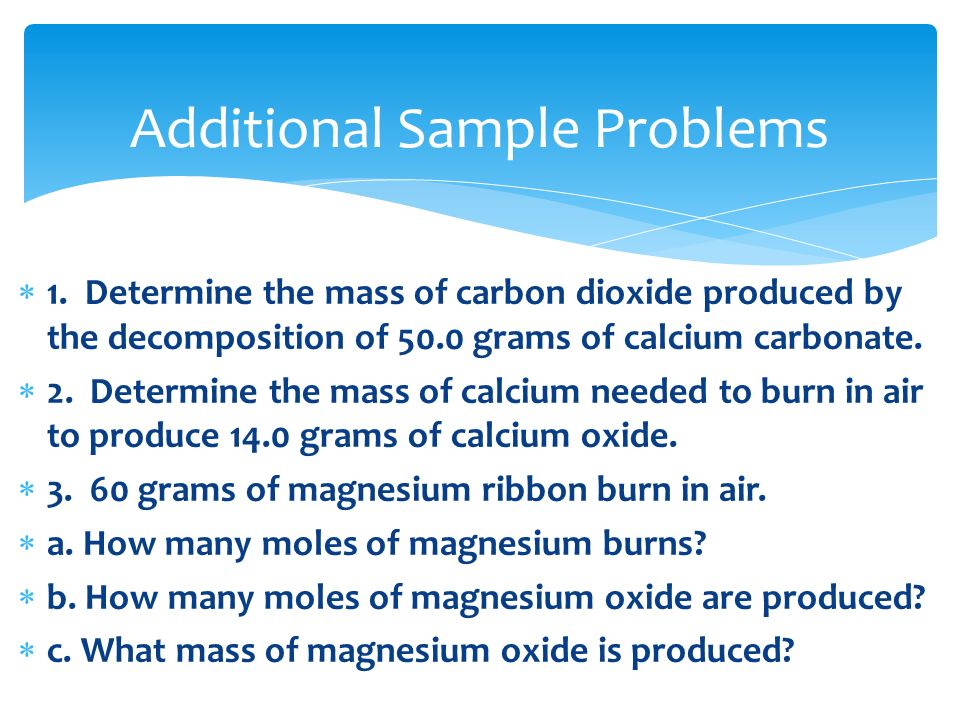 determine the mass of calcium carbonate Separating and determining the mass of calcium  carbonate and calcium ion determine the mass percent  determining the mass of calcium ion in a.
