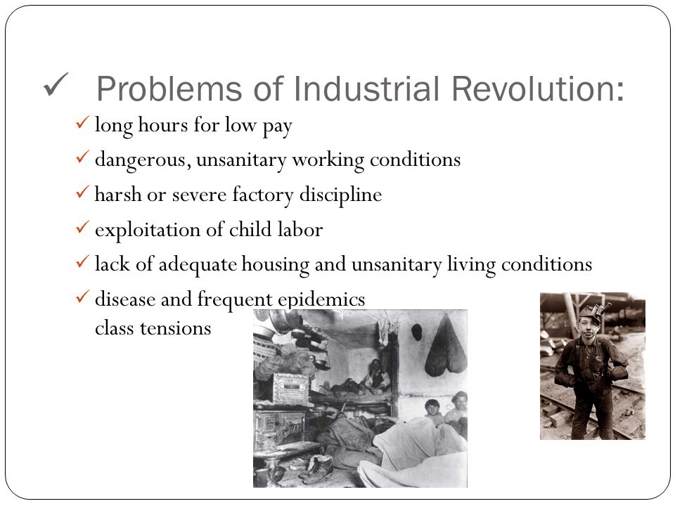 effects of the industrial rev The positive and negative effects of the industrial revolution the industrial revolution had many positive and negative impacts on society the positive include cheaper clothes, more job opportunities, and improvement in transportation.
