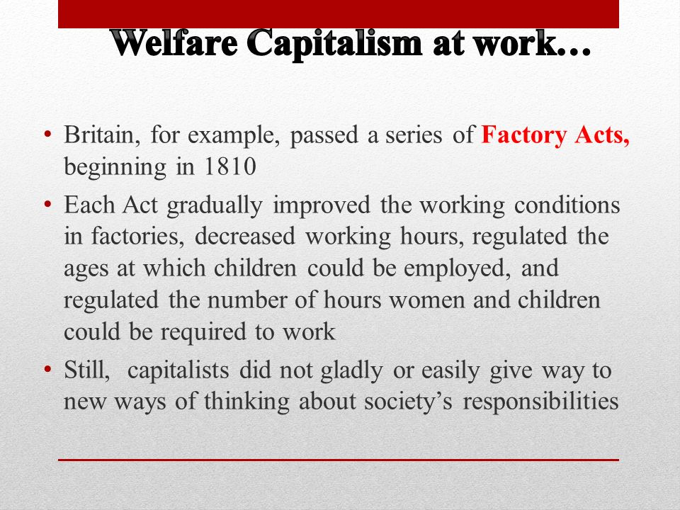 welfare capitalism This paper surveys the debate regarding esping-andersen's typology of welfare  states and reviews the modified or alternative typologies ensuing from this.