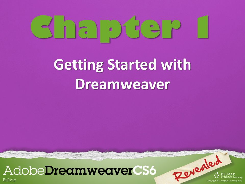 Getting Started with Dreamweaver