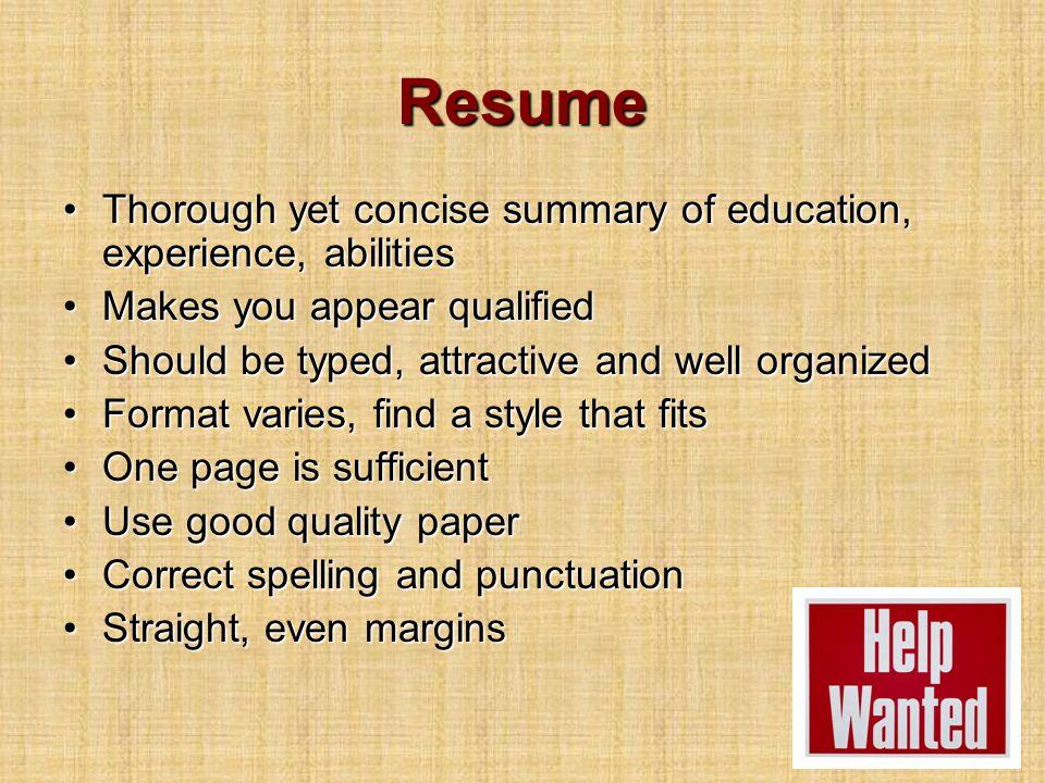 8 Resume ...  Correct Spelling Of Resume