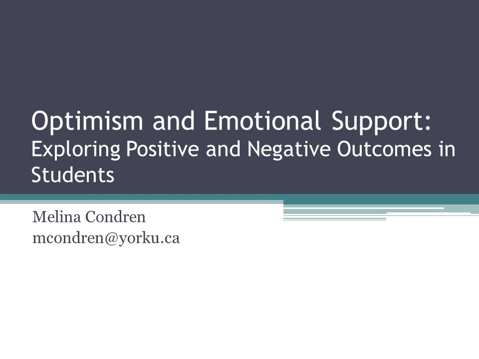 exploring optimism Exploring optimism michael blanck psy/220 3/20/15 instructor jenkins when comparing the concepts of optimism and hopefulness, a person's positive emotions.