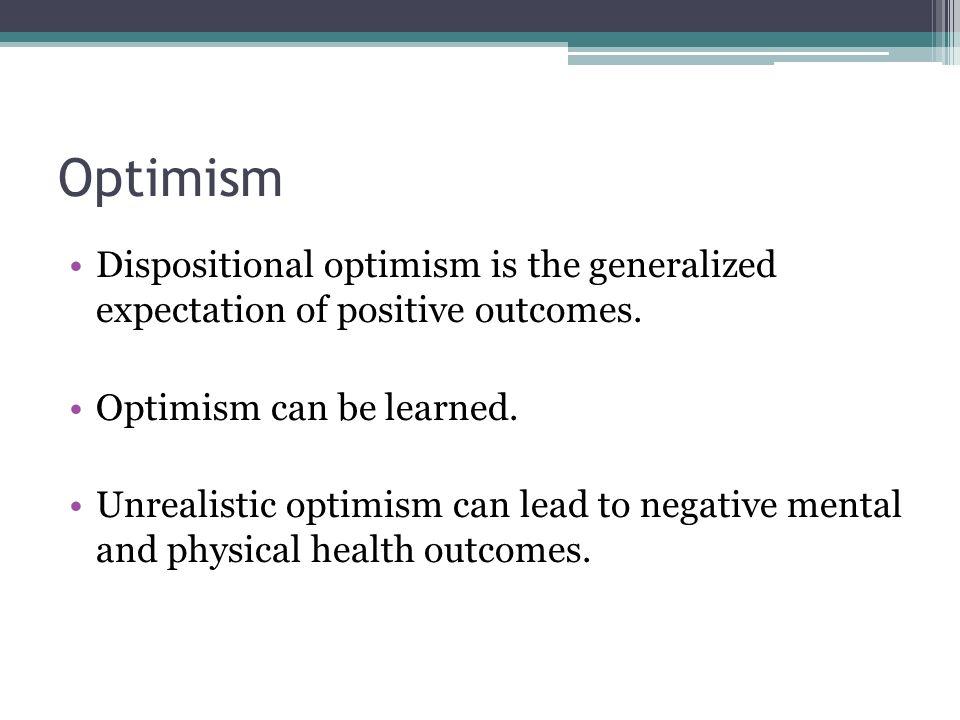 exploring optimism