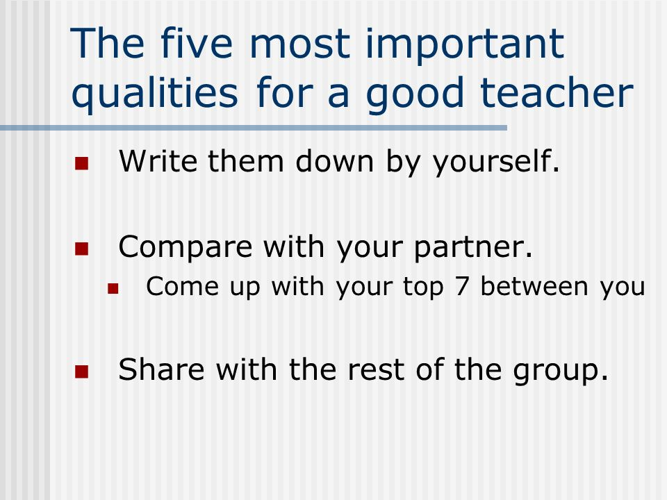 important skills for a teachers Effective communication skills for teachers following are some of the communication skills that a teacher must possess so that they interact properly with the students positive motivation this is one of the important things that a teacher must possess.