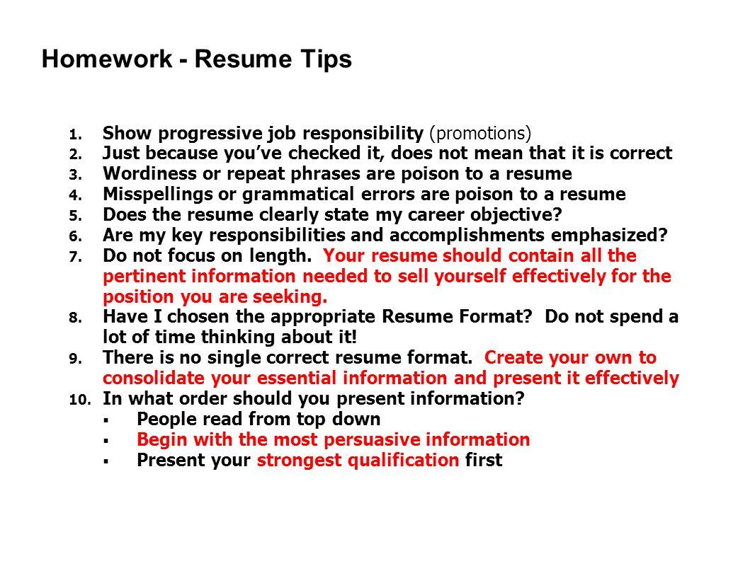 essay on job responsibility