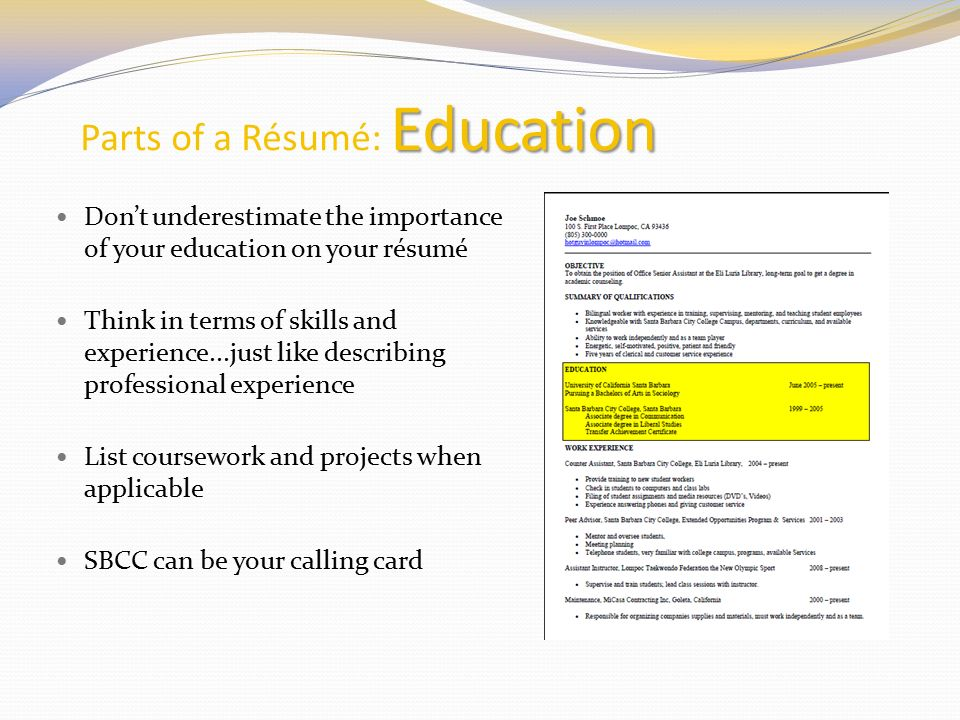 resume education coursework Class resources how to list online courses on your resume the right way (because yes, there is a wrong way.