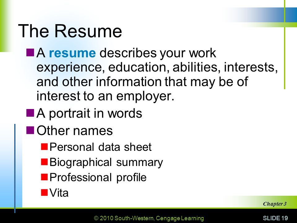 3 getting the job 3 1 getting an interview ppt video online download