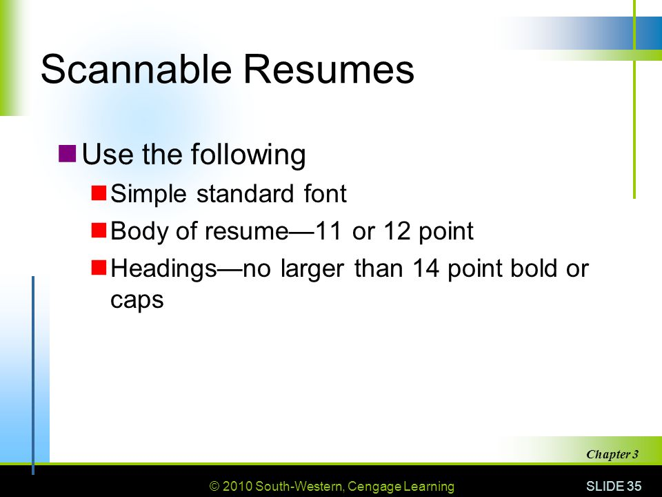 scannable resume example ricard templates