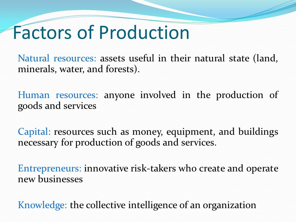 The major factors that control the natural resources in canada