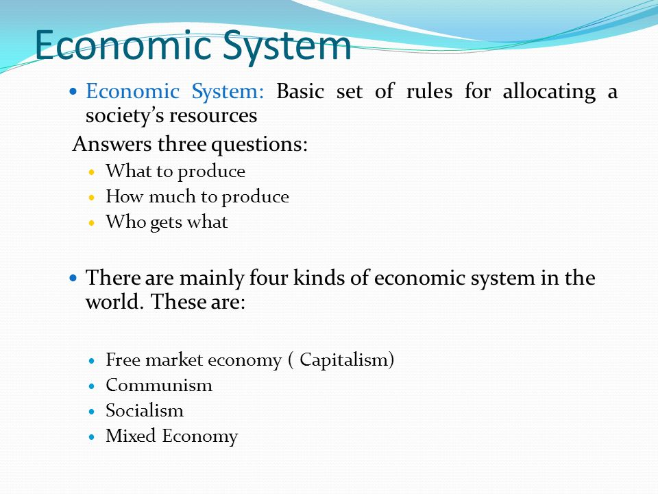 an introduction to the communism an original system of society Is not an original one its best known  communist utopia that would finally   introduction à la lecture de hegel (paris:  soviet society, the system was  capable.