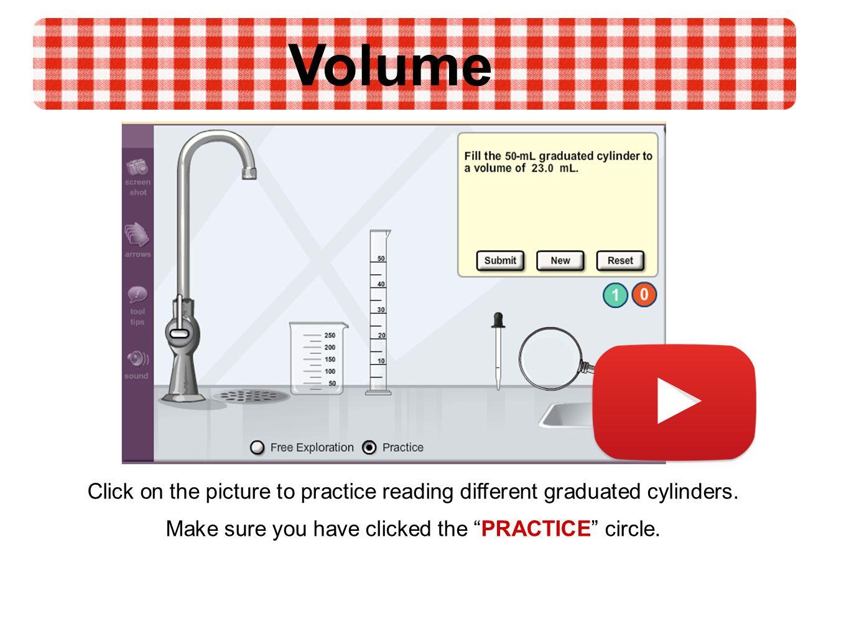 worksheet Reading A Graduated Cylinder Worksheet mass and volume ppt video online download 9 make