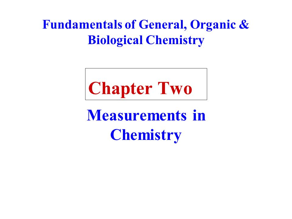 chapter one chemistry and measurements View notes - chapter 1 - chemistry and measurement from aup chm 152 at inti international university chapter 1 chemistry and measurement 1 lecturer: dr ho soon min room : a3-f06 email:.
