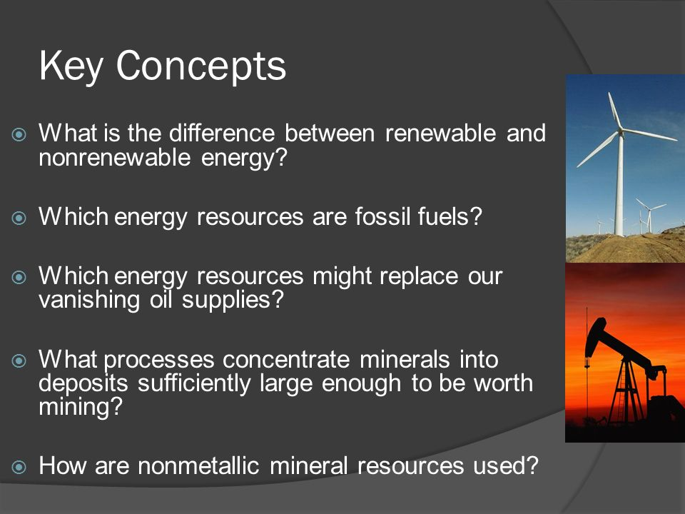 differences between fossil fuel and renewable energy essay The difference between renewable and non-renewable energy resources is a vital topic in science both the energy sources have a vast range of differences from each other as in the modern world energy resources are discussed and focused a non-renewable resource, sometimes it is also known as a finite resource, is a source which does not.