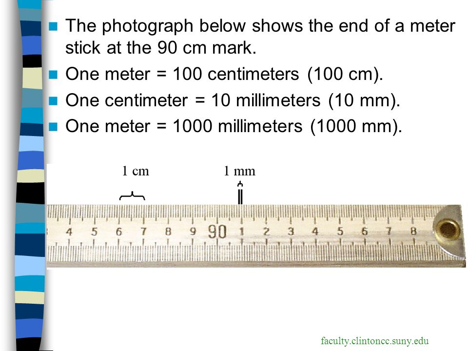 Measuring matter ppt download for Millimeters to meters