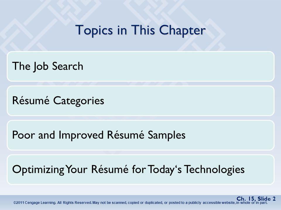 jobsearch resume