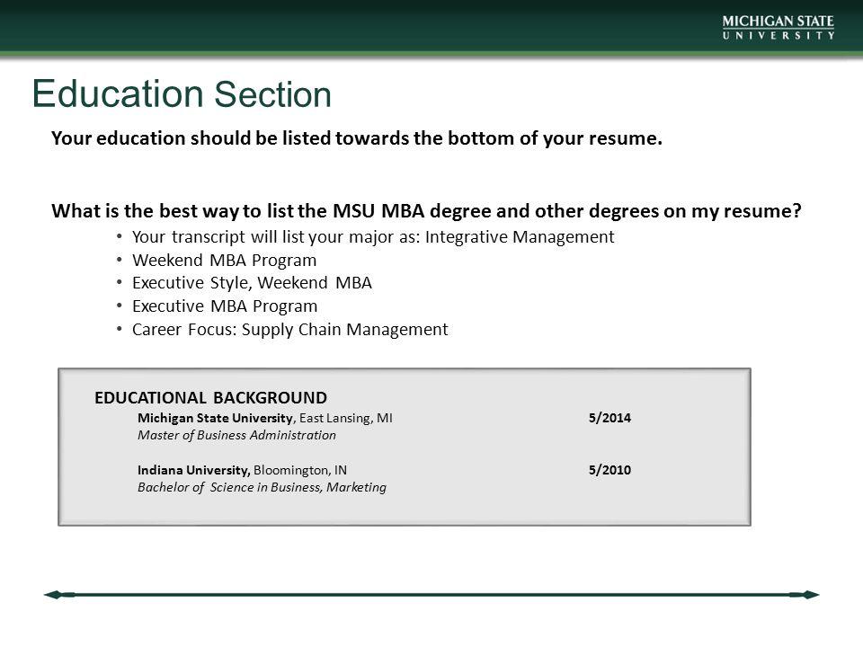 MBA Career Services Center Communication Workshop ppt download