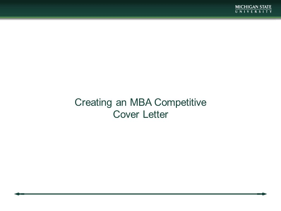 20 creating an mba competitive cover letter