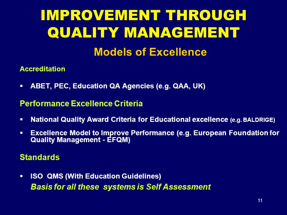 quality in teaching through managing causes Improving the quality of pain management through measurement and action national pharmaceutical council, inc this monograph was developed by jcaho as part of a collaborative project with npc.