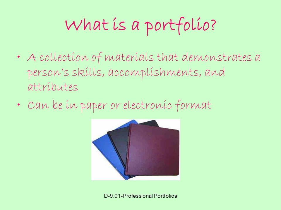 professional portfolio pictures