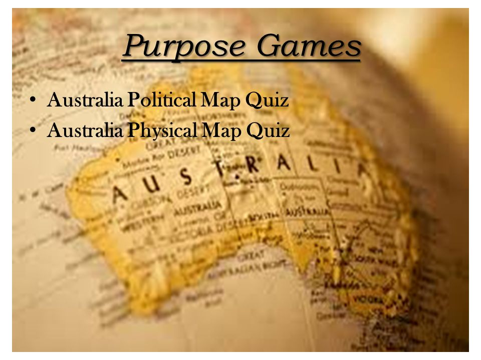 Australia And Oceania Ppt Download - Australia political map