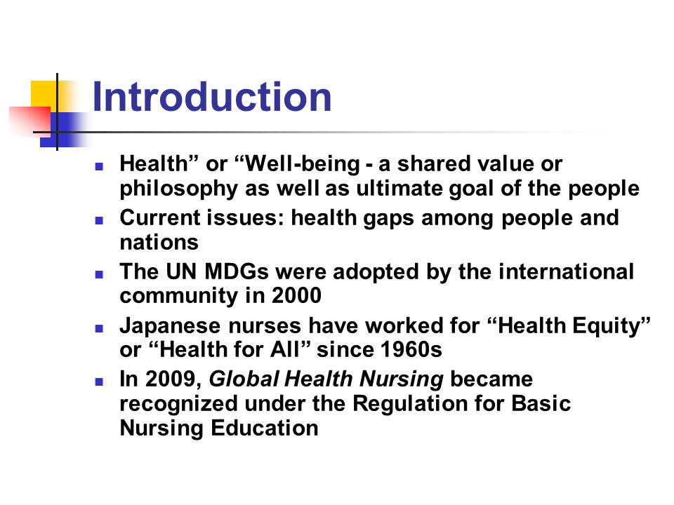 global nursing issues Nursing, this commitment means educa t- ing nursing students about global  health issues across the cu r r i culum and offering courses for students to study.