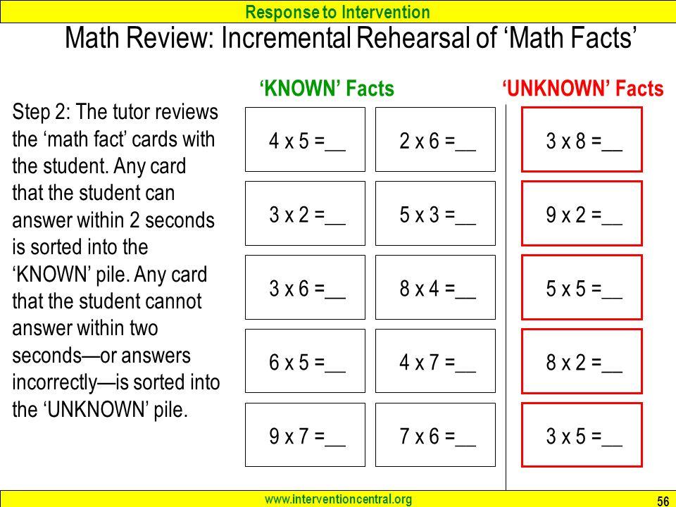 Fact In Math - Kidz Activities