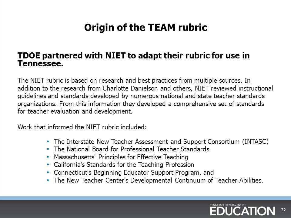 interstate new teacher assessment and support consortium Intasc principles interstate new teachers assessment and support consortium principle 1: making content meaningful the teacher understands the central concepts, tools of inquiry, and structures of the discipline(s) he or she teaches and creates learning experiences that make these aspects of subject matter meaningful for students.