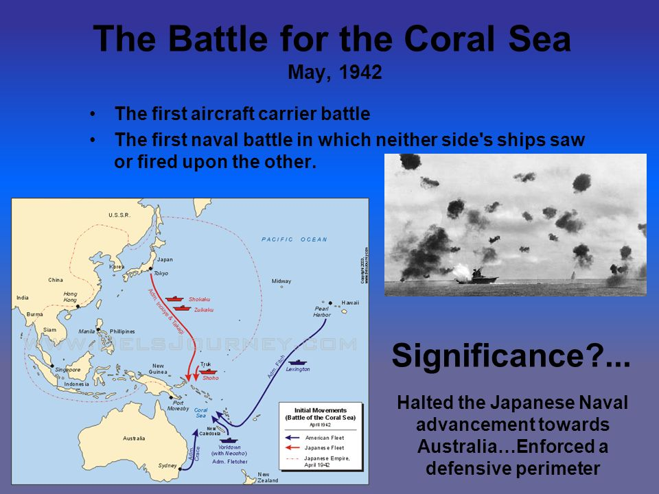 importance of the battle of coral Find out more about the history of battle of coral sea, including videos, interesting articles, pictures, historical features and more get all the facts on historycom.