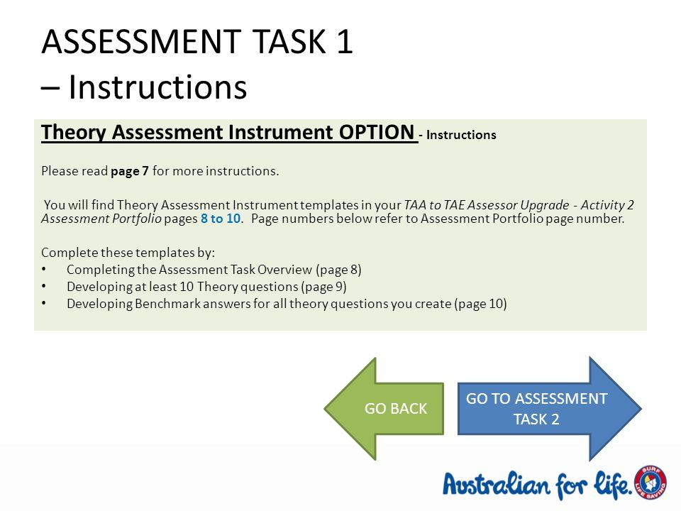 assesmet task tda 2 1 View homework help - assessment-task-2 (1) from business m 506 at lloyds international college assessment task 2 bsbadm506 manage business document design and development design and develop.