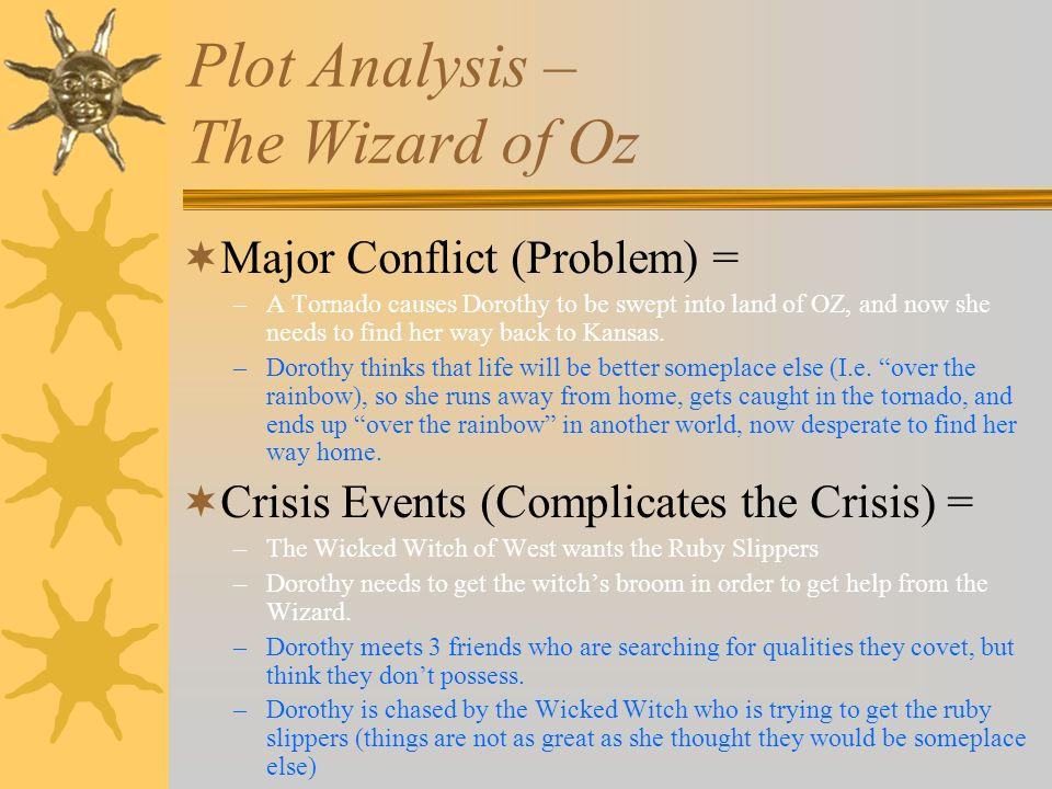 the wizard of oz semiotic analysis The wonderful wizard of oz to wicked: a timeline of feminism by olivia fehrenbacher writers may consciously or unconsciously develop pieces that reflect current issues in society by allowing these issues to influence the plot and character development of their piece.