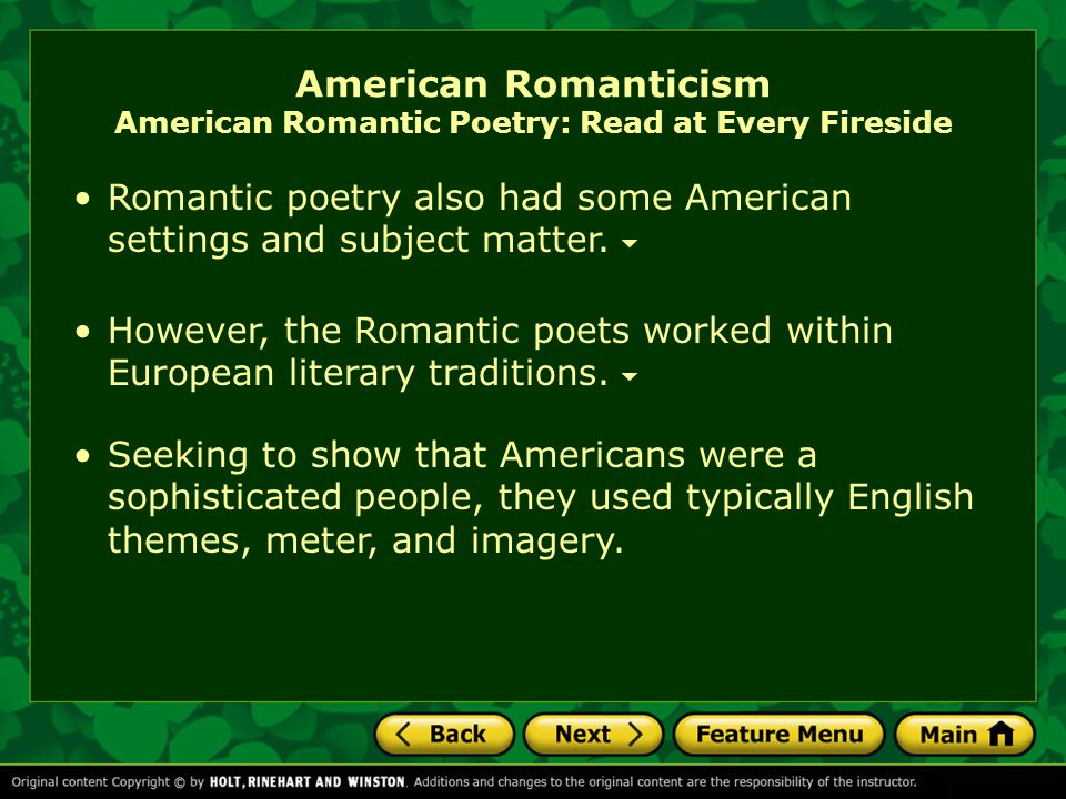 romanticism values essay Essay on romantic poetry essay on romantic poetry  wordsworth's romantic values the enlightenment, a period of reason, intellectual thought, and science, led some writers to question those values over emotion  + all romantic poetry essays romantic love is a poor basis for marriage god's grandeur poetry analysis.
