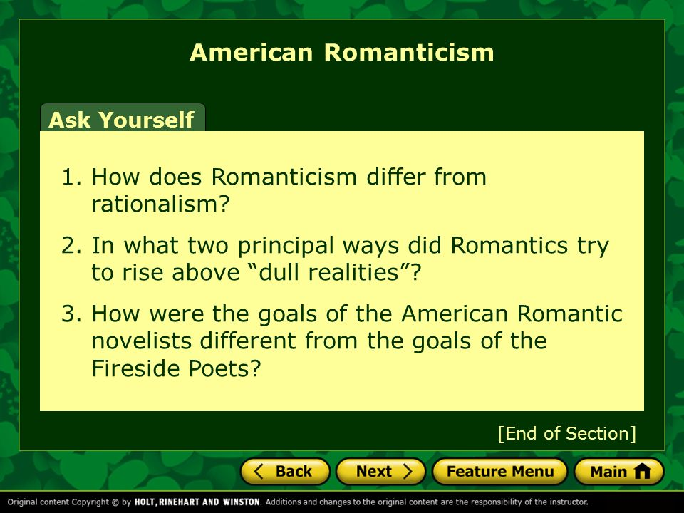 transcendentalism principal expression of romanticism in Transcendentalism and its impact on american and other literatures  transcendentalism took its birth  vital and principal expression of romanticism in.