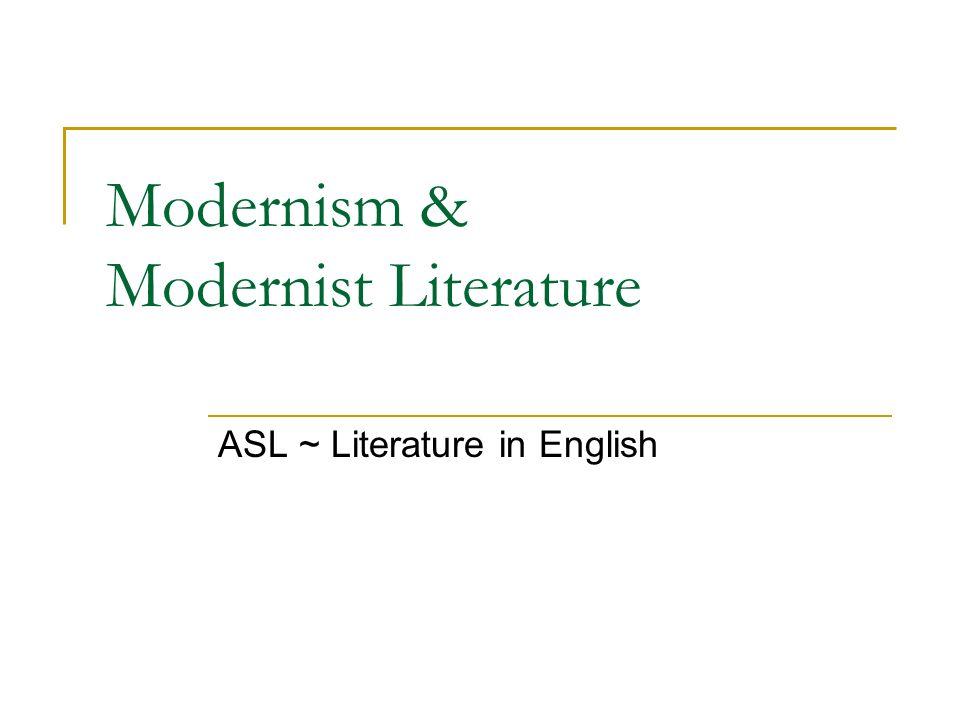 modernism modernist literature ppt video online  modernism modernist literature