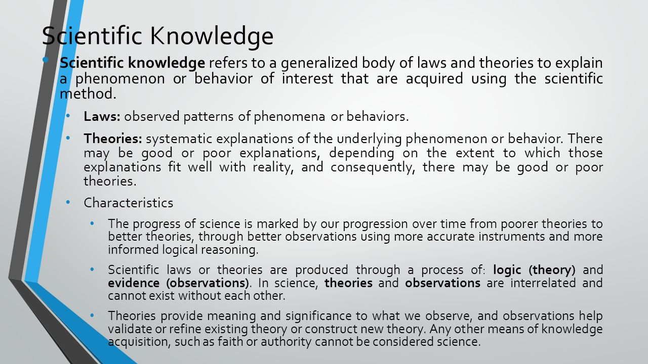 an analysis of mathematical laws in the theory of knowledge Job analysis is the process of discovering the nature of a job it typically results in an understanding of the work content, such as tasks and duties, understanding what people need to accomplish the job (the knowledge, skills, abilities, and other characteristics), and some formal product such as a job description or a test blueprint because it forms the foundation of test and criterion.