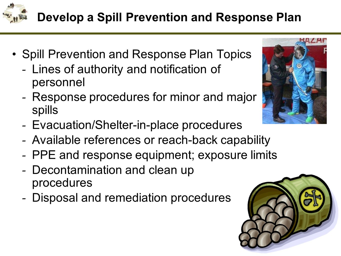 how to develop an emergency response plan