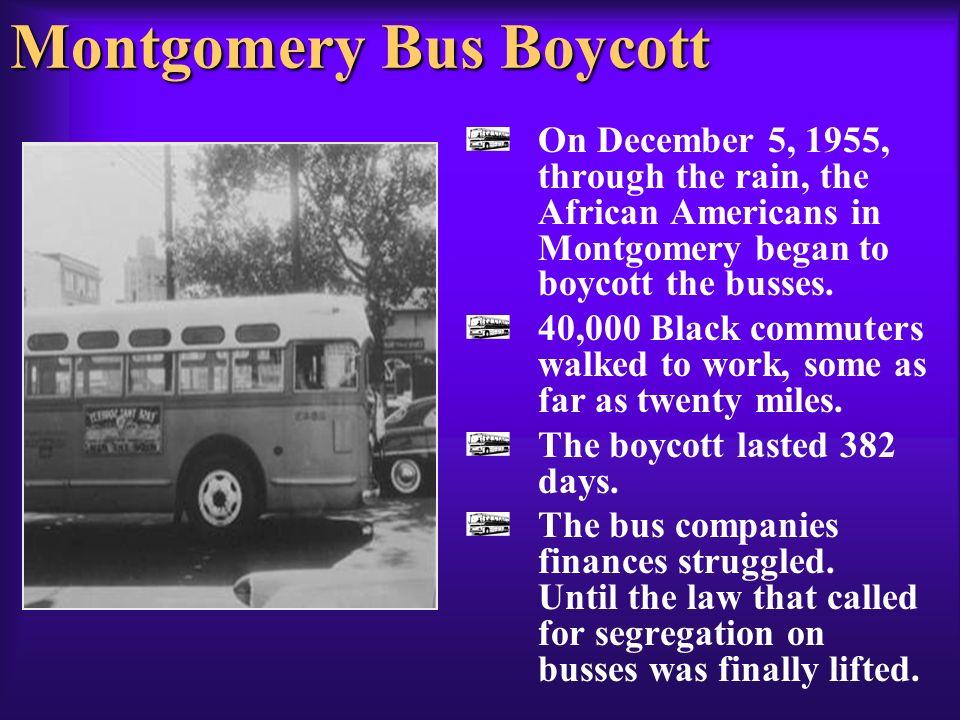 Montgomery Bus Boycott Significance Essay Rosa Parks And The Montgomery Bus Boycott
