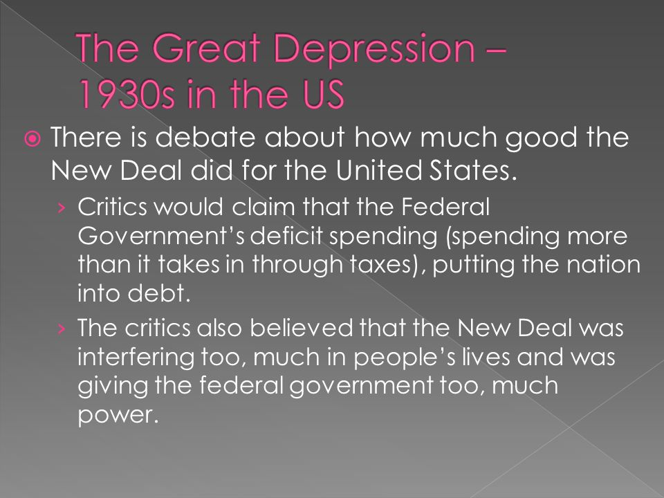 essays on the 1930 and the united states depression Mexicans in the united states: a report of a brief survey conducted by linna e   in 1930, as the american economy was devastated by the great depression,.