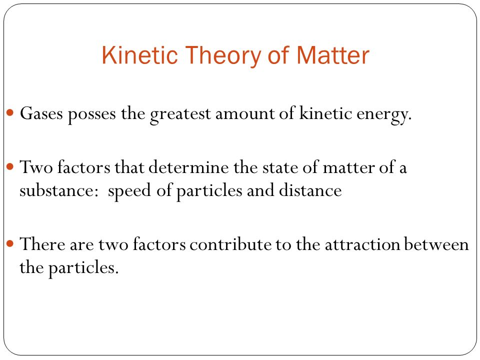 what are the four states of matter