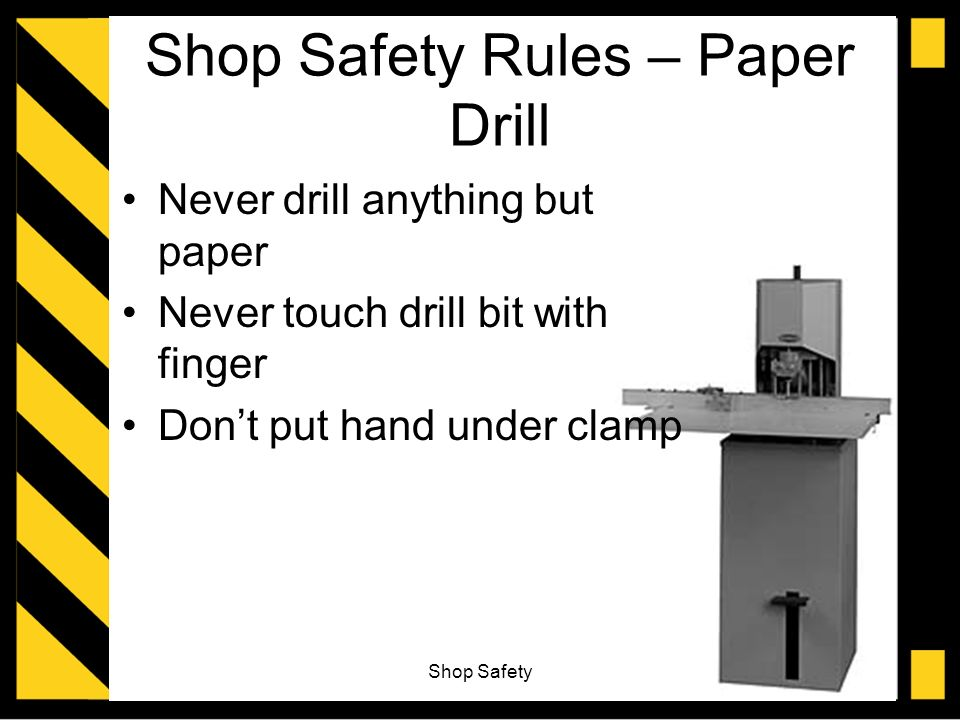 shop safety essays A model essay for students to use as a resource to help organize essays   using animals in research and to test the safety of products has been a topic of  heated debate  in against animal testing, a pamphlet published by the body  shop,.