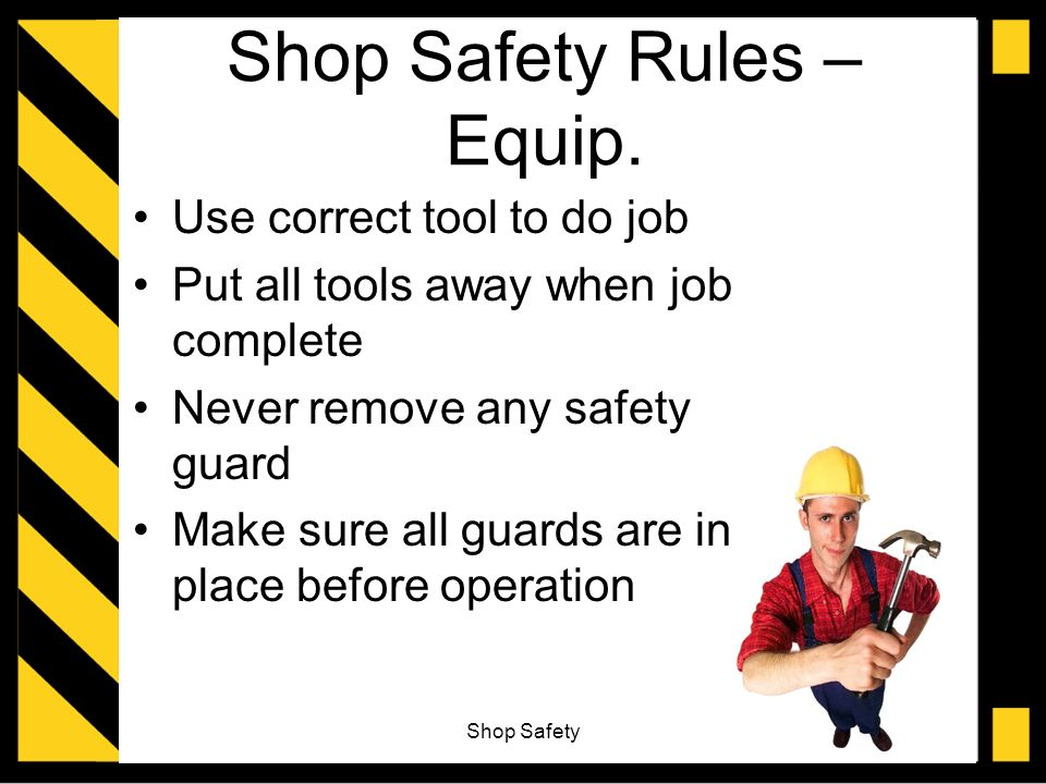 Drill Press Guard >> Shop Safety Unit ppt video online download